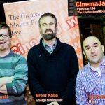 CinemaJaw's Matt and Ry with Brent Kado